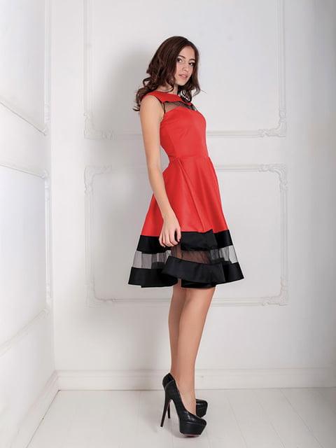 Платье красное Podium 5035498
