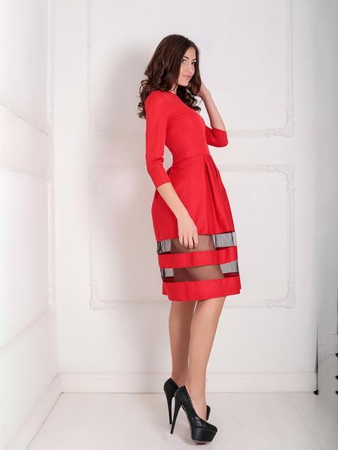Платье красное Podium 5035501