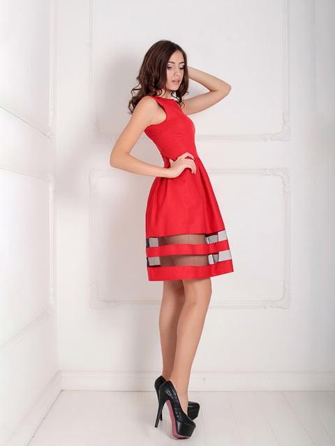 Платье красное Podium 5035512