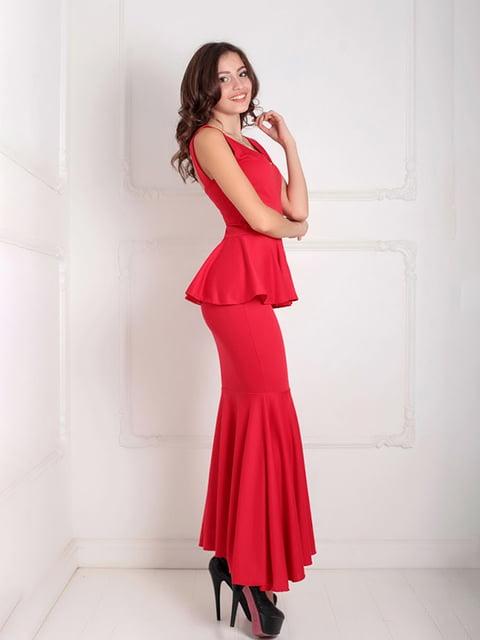 Платье красное Podium 5035529