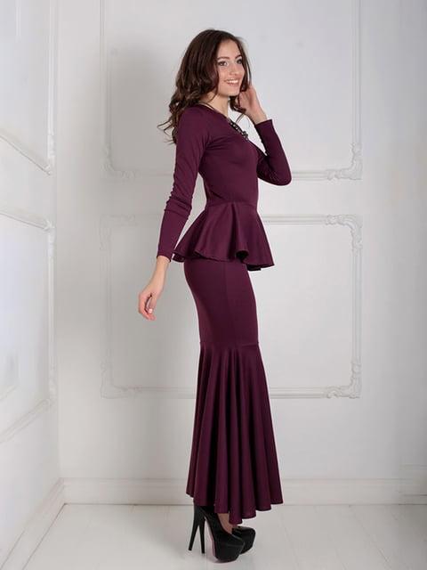 Платье бордовое Podium 5035534