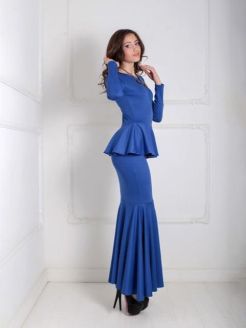 Платье синее Podium 5035536