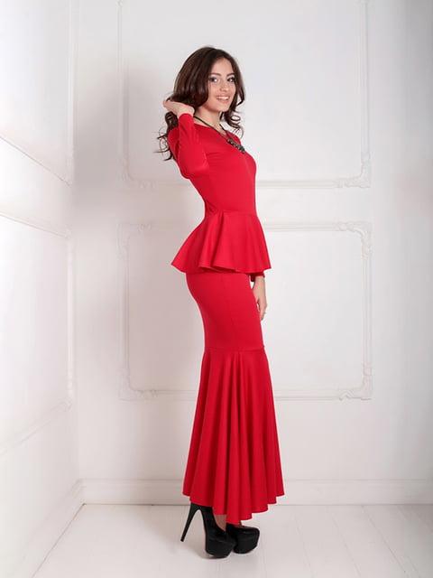Платье красное Podium 5035537