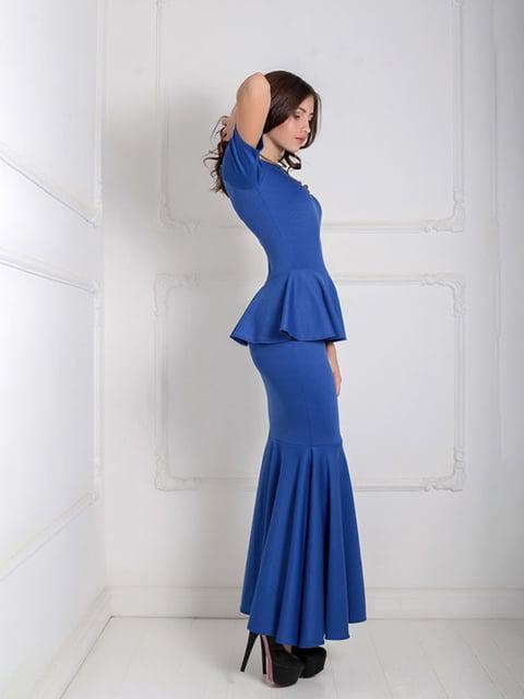 Платье синее Podium 5035544