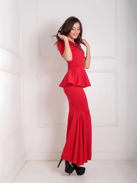 Платье красное Podium 5035545
