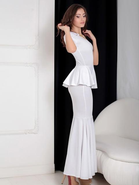 Платье белое Podium 5035546