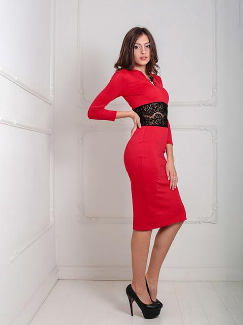 Платье красное Podium 5035556