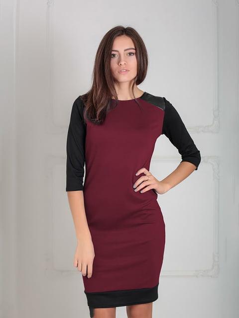 Платье бордовое Podium 5035584