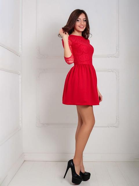 Платье красное Podium 5035590