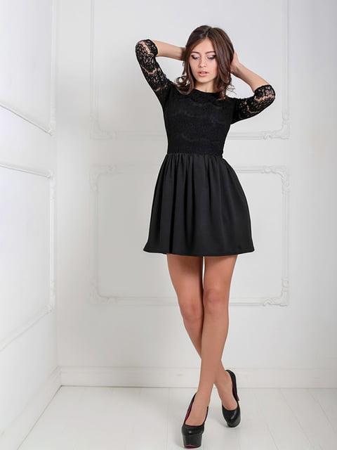 Платье черное Podium 5035592