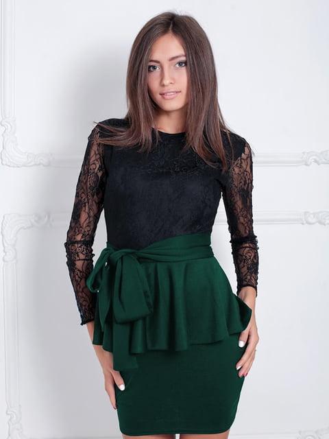 Платье зеленое Podium 5035625