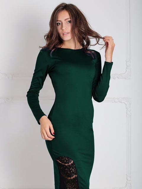 Платье зеленое Podium 5035628