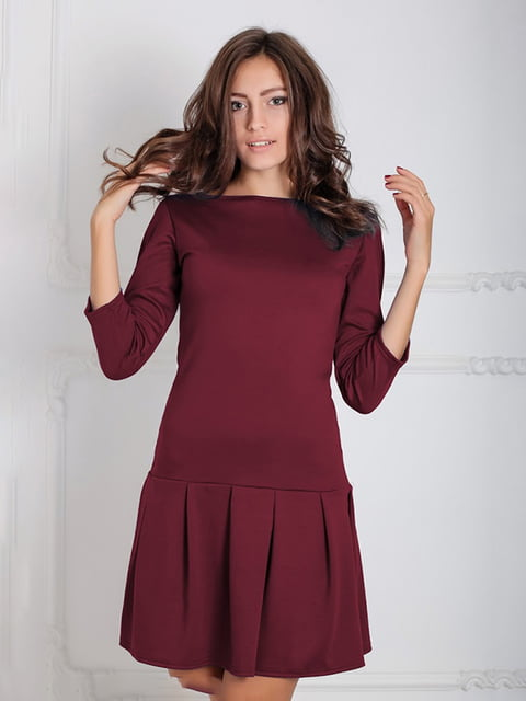 Платье бордовое Podium 5035636