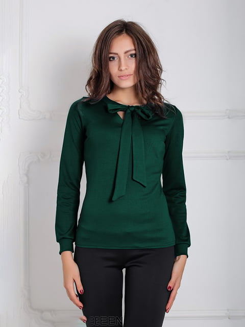 Блуза зеленая Podium 5035646