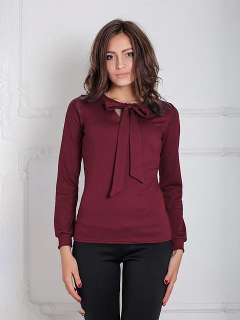 Блуза бордовая Podium 5035648