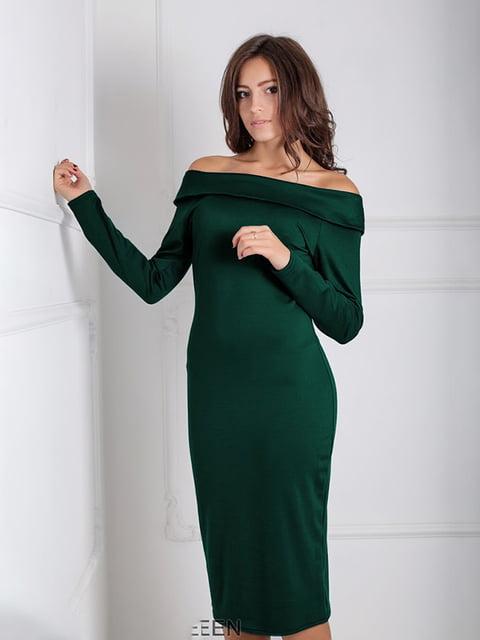 Платье зеленое Podium 5035655
