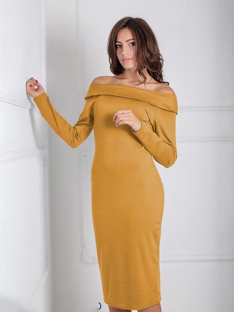 Платье желтое Podium 5035656