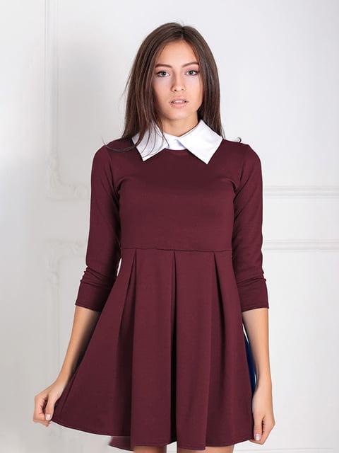 Платье бордовое Podium 5035669
