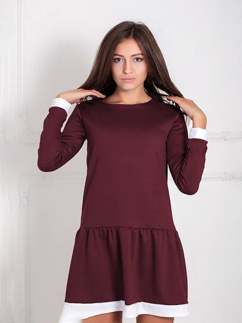 Платье бордовое Podium 5035672