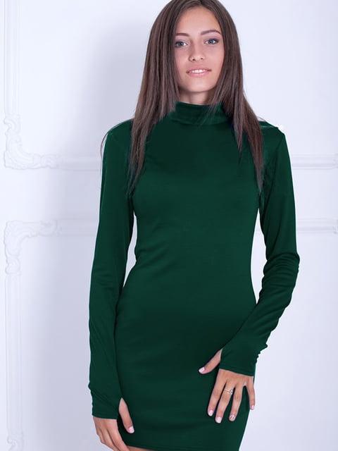 Платье зеленое Podium 5035739