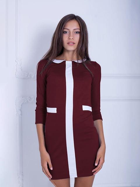 Платье бордовое Podium 5035765