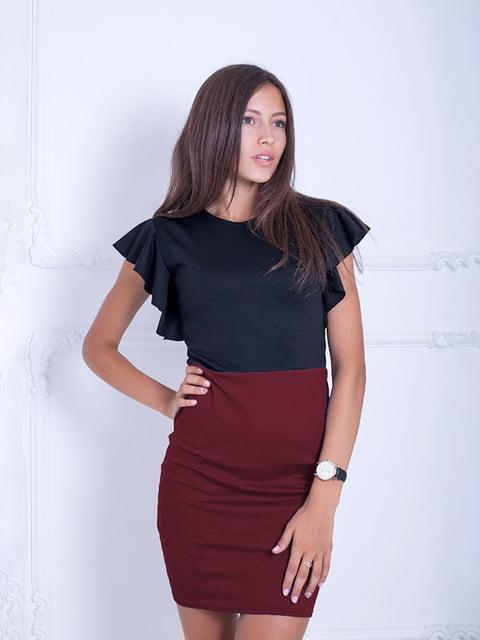 Платье двухцветное Podium 5035780