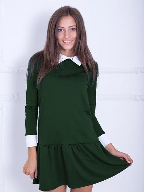 Платье зеленое Podium 5035824