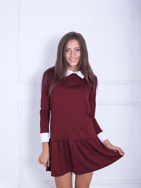 Платье бордовое Podium 5035826