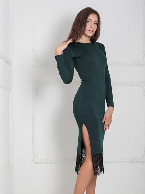 Платье зеленое Podium 5035866