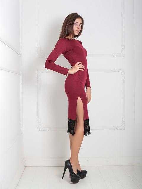 Платье бордовое Podium 5035868