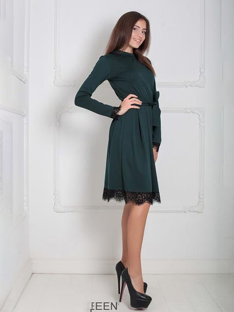 Платье зеленое Podium 5035874