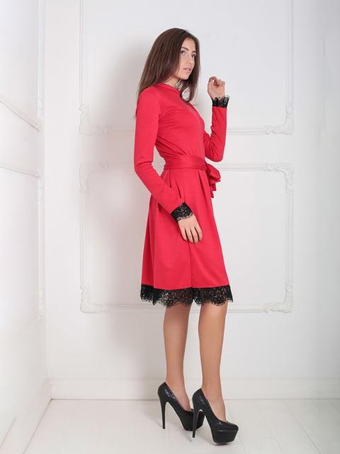 Платье красное Podium 5035878