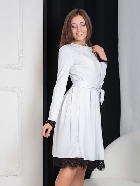 Платье белое Podium 5035880
