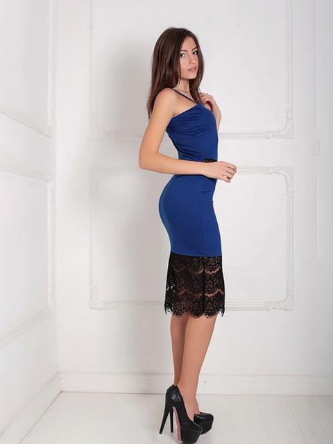 Платье синее Podium 5035897