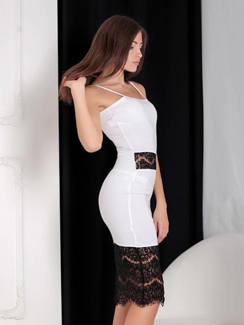 Платье белое Podium 5035899