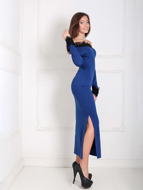Платье синее Podium 5035902