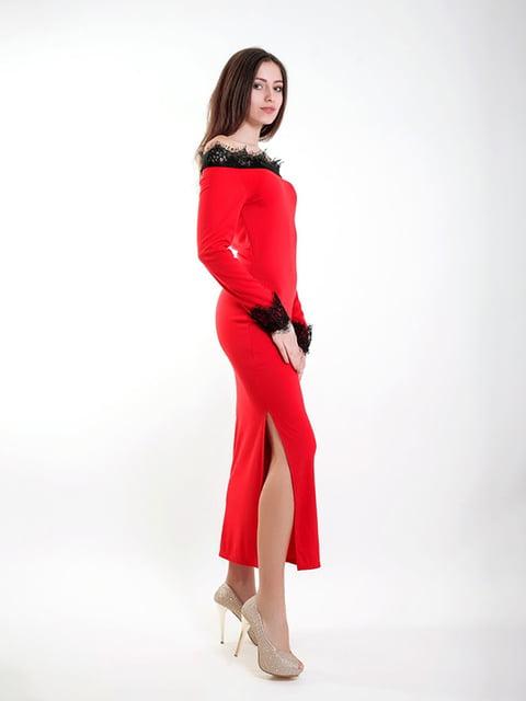 Платье красное Podium 5035903