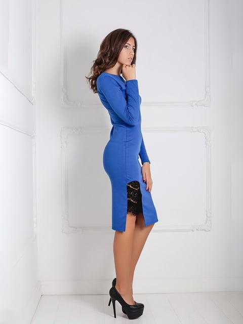 Платье синее Podium 5035928