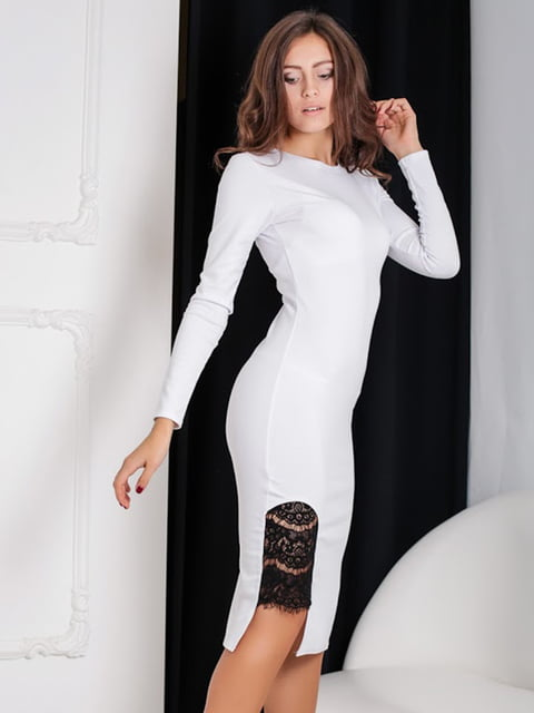 Платье  белое Podium 5035930