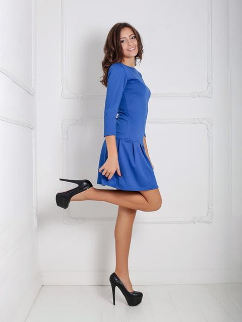 Платье синее Podium 5035938