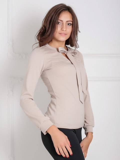 Блуза бежевая Podium 5035971