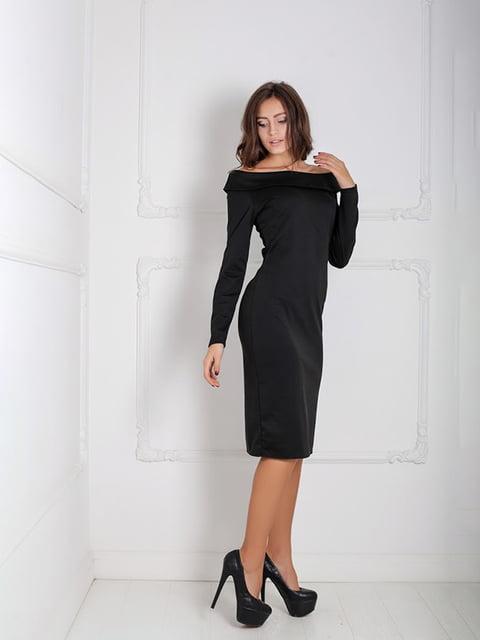 Платье черное Podium 5035994