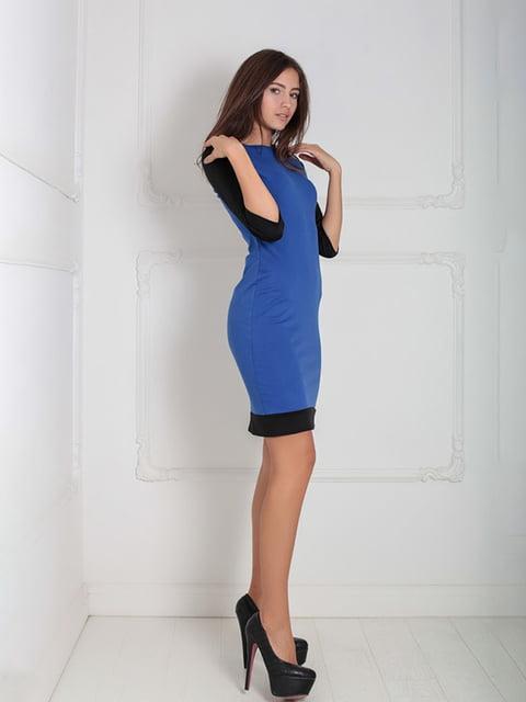 Платье синее Podium 5035996