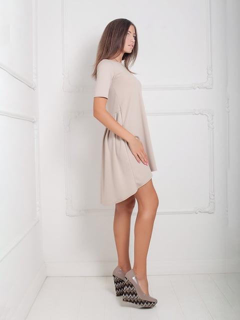 Платье бежевое Podium 5036023