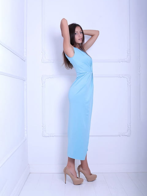 Платье голубое Podium 5036097