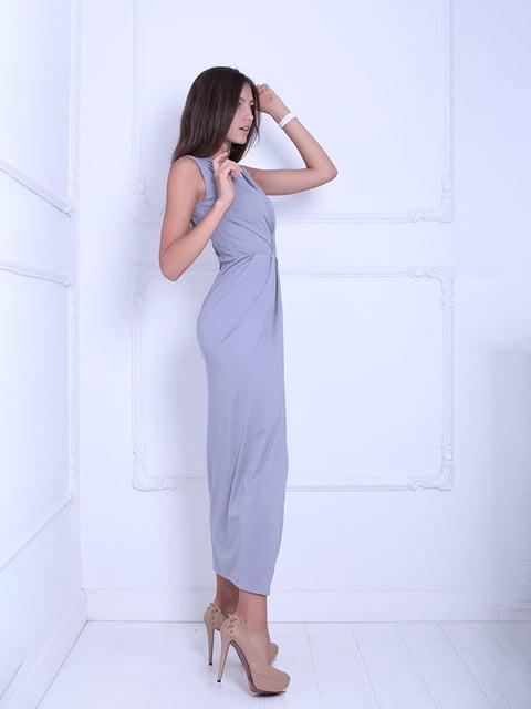 Платье серое Podium 5036102
