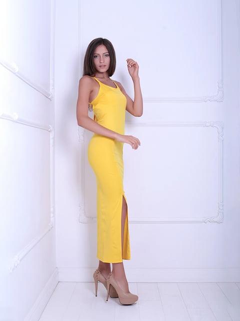 Платье желтое Podium 5036124