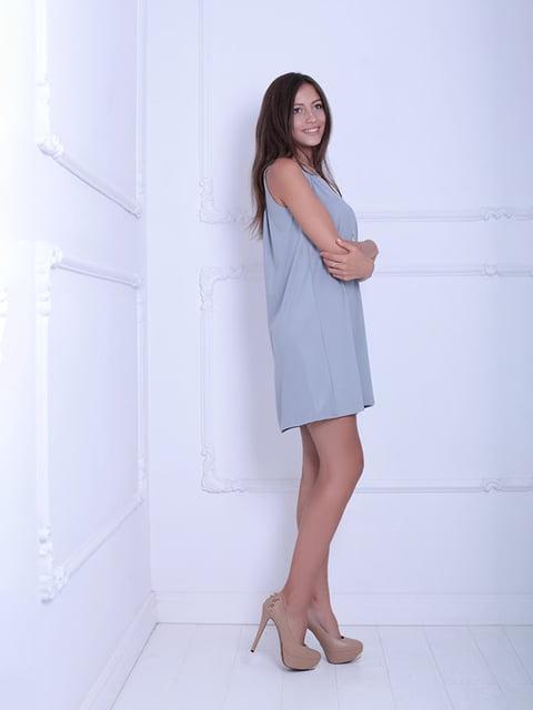 Платье серое Podium 5036134