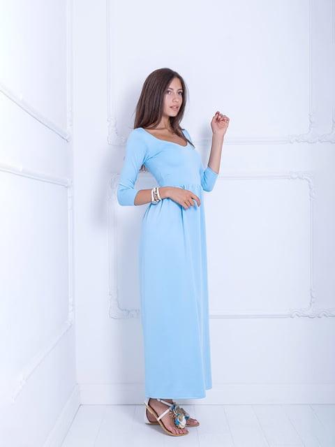 Платье голубое Podium 5036145