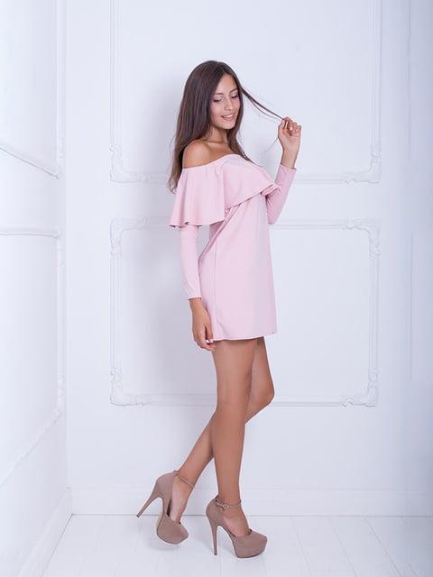 Платье розовое Podium 5036177